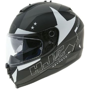 HJC IS-17 Armada - Black / White Full Face Motorcycle Helmet